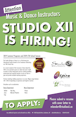 12 Strings Music School   We are Hiring for Fall of 2019!